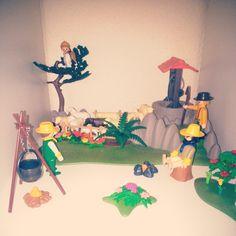 Hoy toca la Anunciación a los pastores #playmobil #Belén #Navidad #juguetes