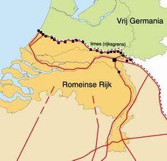 grens romeinse rijk nederland - Google zoeken