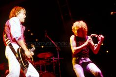 Foreigner Photo Lou Gramm Mick Jones 8x12 or 8x10 in '81 Richfield Oh Concert 13 | eBay