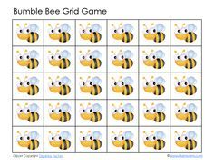 Bumble Bee Grid Game