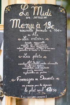 A quick bite to eat at a cute little restaurant in Paris.
