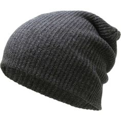 Amazon.com: KBW-12 DGY Solid Slouchy Beanie Baggy Style Skull Cap... ($8.99) ❤ liked on Polyvore featuring accessories, hats, slouchy beanie hats, knit skull cap, skull cap, slouch beanie and slouchy knit hat
