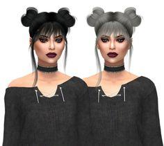 Leah Lillith Nyane Hair 001 Naturals at Kenzar Sims • Sims 4 Updates