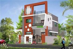 ♥ Modern residential house  design by AdivaCorporation http://www.adivacorporation.com/