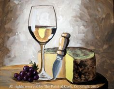 Sacramento Studio 2/24: Wine and Cheese ~ BOGO ~ Buy One Get One FREE!-Special Event (Ages 21+)