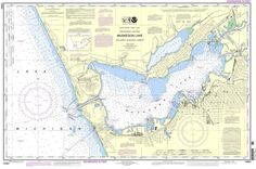 "NOAA Nautical Chart 14934: Muskegon Lake and Muskegon Harbor is a standard navigation chart used by commercial and recreational mariners alike. Printed ""on-demand"" with water resistant paper, it conta"