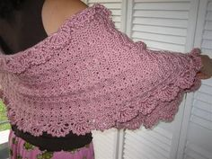 Caron+Free+Crochet+Patterns | just finished the Simply Shawl from the free pattern on the Caron ...