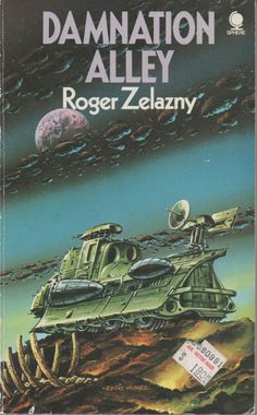 Sphere Paperback Science Fiction, Damnation Alley by Roger Zelazny, 1974, good shape by VintageNEJunk on Etsy