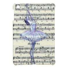 Sold! Many thanks to my customer in UK!! Dance to the Music - Ballet iPad Mini Cases #ballet #iPad