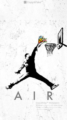 Jordan Logo Wallpaper, Nike Wallpaper, Banksy Graffiti, Street Art Graffiti, Bansky, Best Gaming Wallpapers, Nba Wallpapers, Simpson Wallpaper Iphone, Hypebeast Wallpaper