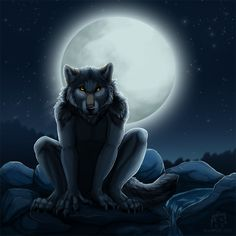 Werewolf for Khimeros by hibbary on DeviantArt Anime Wolf Drawing, Wolf Drawings, Furry Drawing, Fantasy Creatures, Mythical Creatures, Wolf Deviantart, Wolf Warriors, Werewolf Art, Wolf Pictures