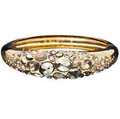 Bittar Obsessed Alexis Bracelet Fool Gold Watch Bangle Bracelets
