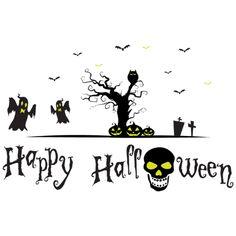 Halloween raamsticker met glow in the dark! Bestel nog snel voor een spooky Halloween!