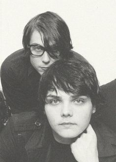 Frank Iero and Gerard Way of My Chemical Romance (Bullets era)