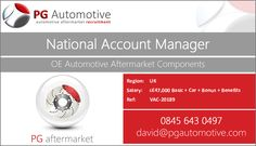 It's time to become a big part of an even bigger organisation as they aim to make a stir in the automotive aftermarket. http://www.pgautomotive.com/job-vacancy-20189-national-account-manager/ #pgautomotive #job