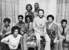 Carl Manly > Vintage African American Photography  Earth, Wind & Fire Photo circa  November 16, 1976