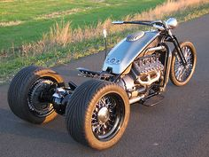 Hot Rod Trikes | ... Flathead V8 Trike Custom Bobber Chopper Hot Rod Ratrod Motorcycle Bike