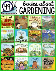 Check out this giant list of garden books for kids!