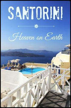 Have you always wanted to go to Santorini, Greece? Well, I did! Read my post to find out why I call it Heaven on Earth!