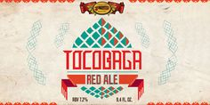 Tocobaga Red Ale - thedieline