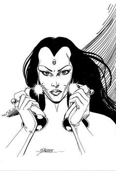 Old Teen Titans, The New Teen Titans, Dc Comic Books, Comic Art, Batgirl, Supergirl, Raven Beast Boy, George Perez, Thors Hammer