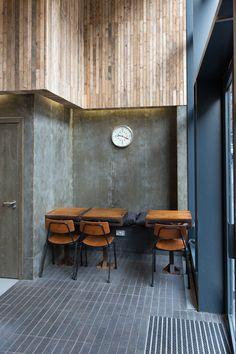 Laboratorio Espresso, Milanese coffee shop in Glasgow by Do Architecture