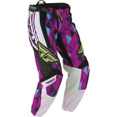 FLY RACING - Womens Kinetic Off-Road Motorcycle Pants - Pants - Motocross Gear - Off-Road - CycleGear - Cycle Gear