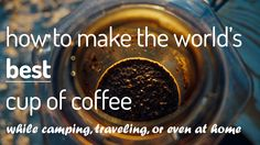 Want to make a truly great cup of coffee while camping? Here is the best camping coffee maker you will find. Want to make a truly great cup of coffee while camping? Here is the best camping coffee maker you will find. Coffee And Espresso Maker, Coffee Cups, Coffee Maker, Coffee Recipes, Dog Food Recipes, Nutrition, How To Make Coffee, Great Coffee, Dog Snacks