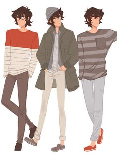 """Keith in various Korean fashion from pinterest"""