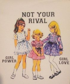 Not Your Rival  VINYL STICKER by TheEscapistArtist on Etsy