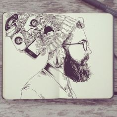 Inside the Sketchbook of Gabriel Picolo