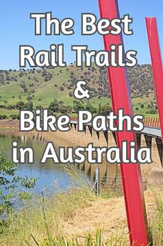 The Best Rail Trails & Bike Paths in Australia for all those cyclists out there who NEVER want to cycle on the road! Cool Bicycles, Cool Bikes, Australian Capital Territory, Bike Path, Bicycle Maintenance, Cool Bike Accessories, Road Cycling, Cycling Gear, Road Bike