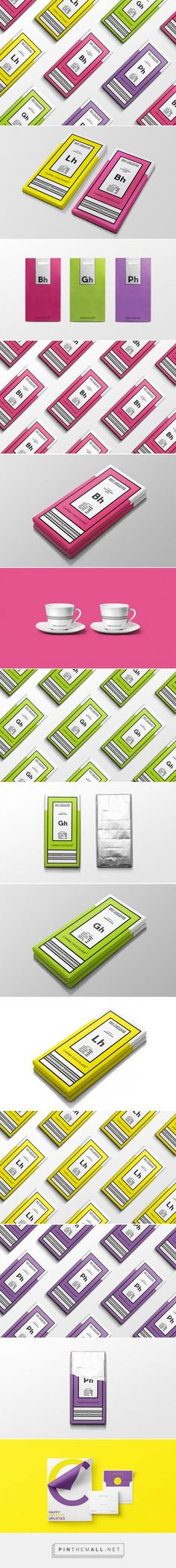 Canna Chocolade cannabis chocolate packaging concept designed by Corn Studio - http://www.packagingoftheworld.com/2015/10/canna-chocolade-concept.html