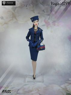 Tenue Outfit Accessoires Pour Fashion Royalty Barbie Silkstone Vintage 1435   eBay