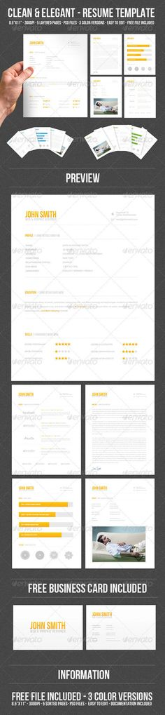 Free Resume Template by Hloom recipes Pinterest Template - different resume templates