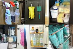 Use these life changing and simple organization hacks to tame the chaos under the kitchen sink in your home.