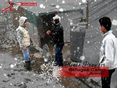 #pray for #refugees. Winter will soon set in and the situation with IS is still dangerous.  #GodAnswersPrayers