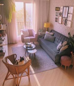 brilliant solution small apartment living room decor ideas and remodel 5 ⋆ Home & Garden Design Casual Living Rooms, Cozy Living Rooms, Home Living Room, Modern Living, Luxury Living Rooms, Living Room Without Tv, Living Room Interior, Interior Design Living Room, Small Living Room Designs