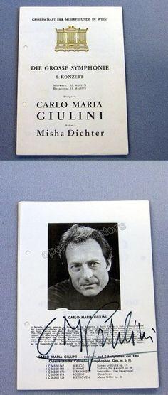 GIULINI, Carlo Maria - DICHTER, Misha