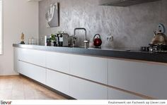 Mooie wit keukenblok