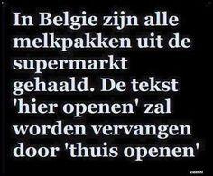 In Belgie zijn alle