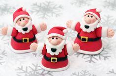 Weihnachtskuchendekorationen