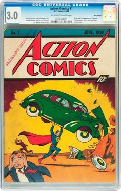 Comic Book Hunter & Gatherer: Action Comics #1 - The Billy Wright Copy