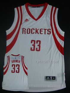 http://www.yjersey.com/nba-houston-rockets-33-brewer-white-new-revolution-30-jersey.html Only$34.00 #NBA HOUSTON #ROCKETS 33 BREWER WHITE NEW REVOLUTION 30 JERSEY Free Shipping!