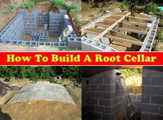 How To Build A Root Cellar Read HERE --- http://www.livinggreenandfrugally.com/how-to-build-a-root-cellar/