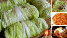 Plnená čínska kapusta s restovanou zeleninou Russian Recipes, Lunches And Dinners, Lettuce, Cabbage, Cooking Recipes, Favorite Recipes, Meat, Vegetables, Food