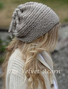KNITTING PATTERN Gypsy Soul Slouchy/Cowl Small by Thevelvetacorn
