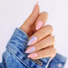 What manicure for what kind of nails? - My Nails Cute Nails, Pretty Nails, Hair And Nails, My Nails, Nails Today, Almond Shape Nails, Short Almond Nails, Short Nails, Almond Nail Art