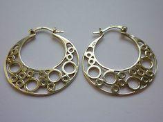 Modernist Sterling Silver Earrings | eBay
