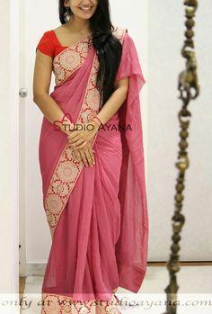 Silk Saree Kanchipuram, Silk Sarees, White Salwar Suit, Saree Blouse, Sari, Saree Jewellery, Beautiful Saree, Cotton Saree, Indian Sarees
